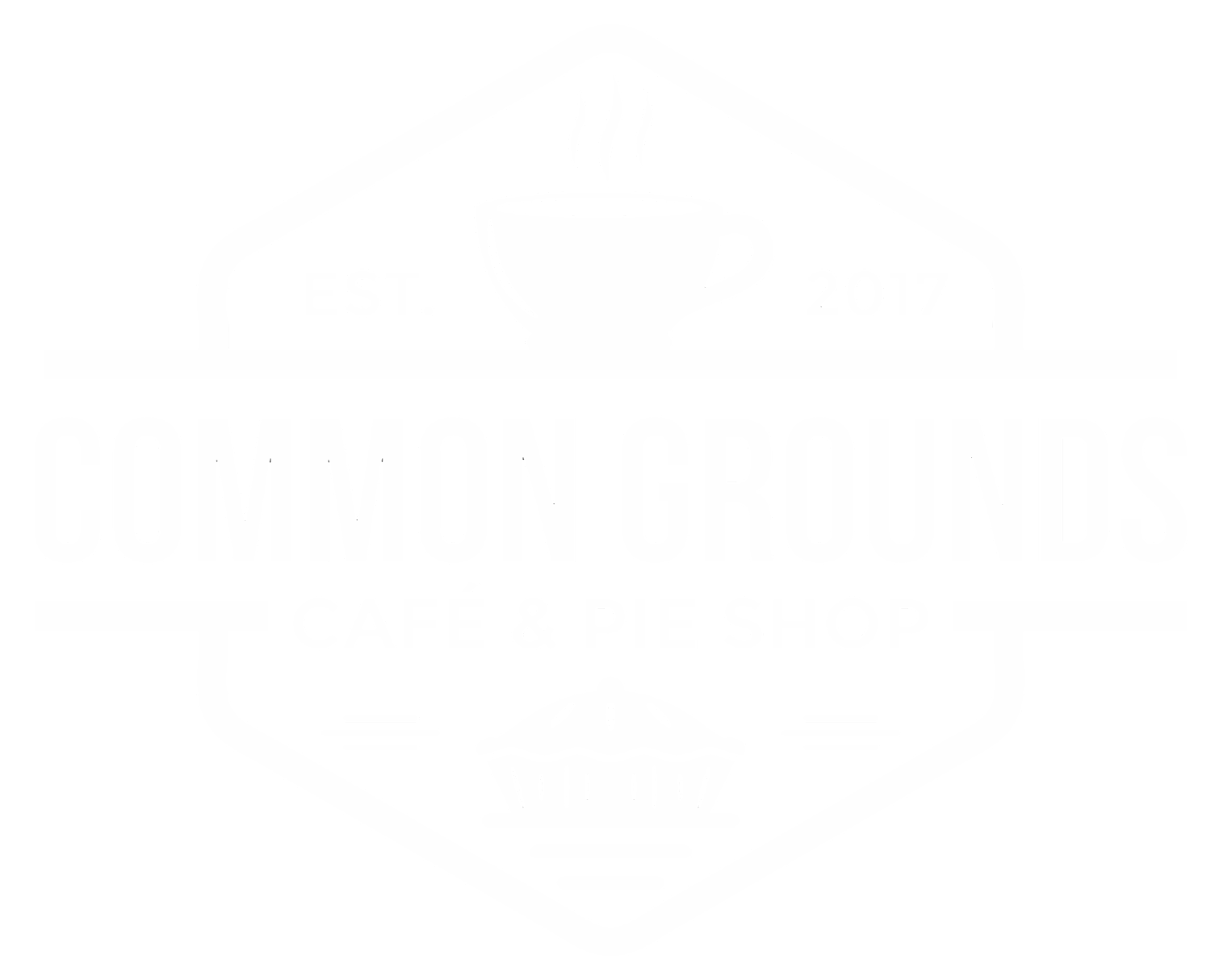 Menu — Common Grounds Cafe & Pie Shop