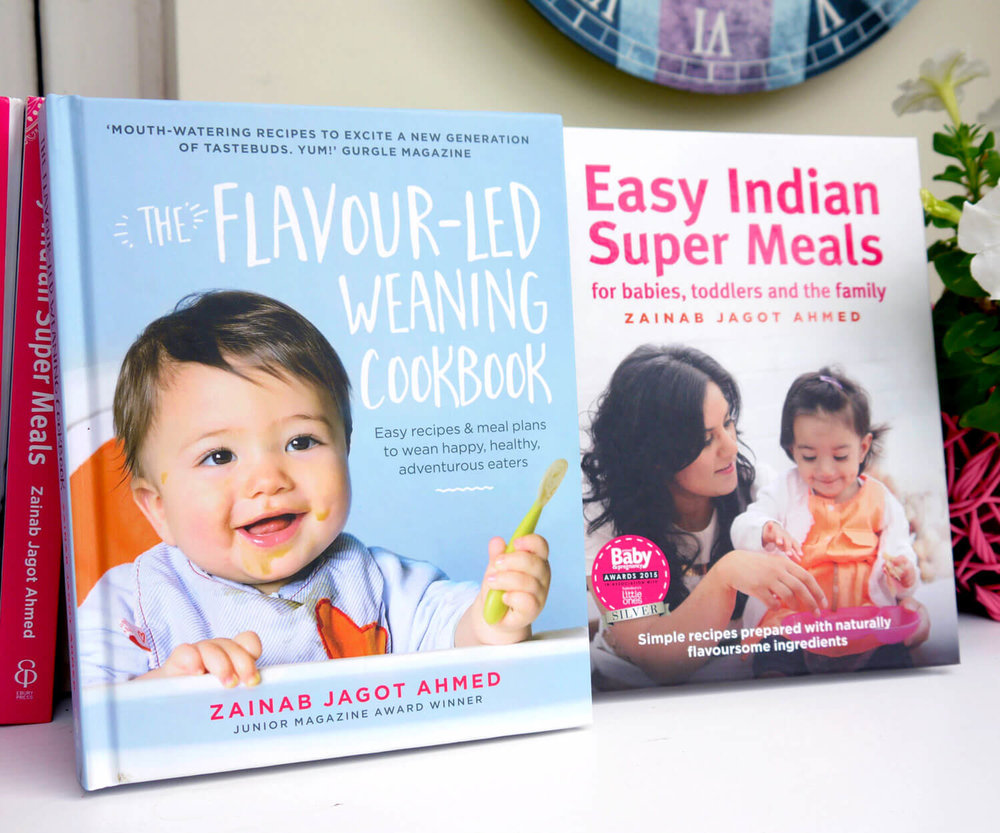 My books - Interested in even more recipes? Here you'll find my award-winning weaning and family cookbooks, combined total of just under 200 recipes!