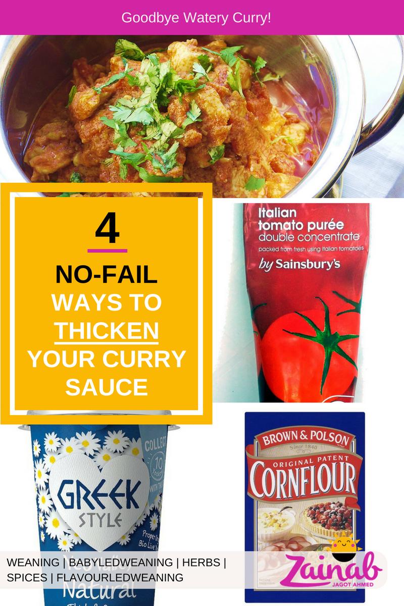 4 Ways to Thicken Curry Sauce