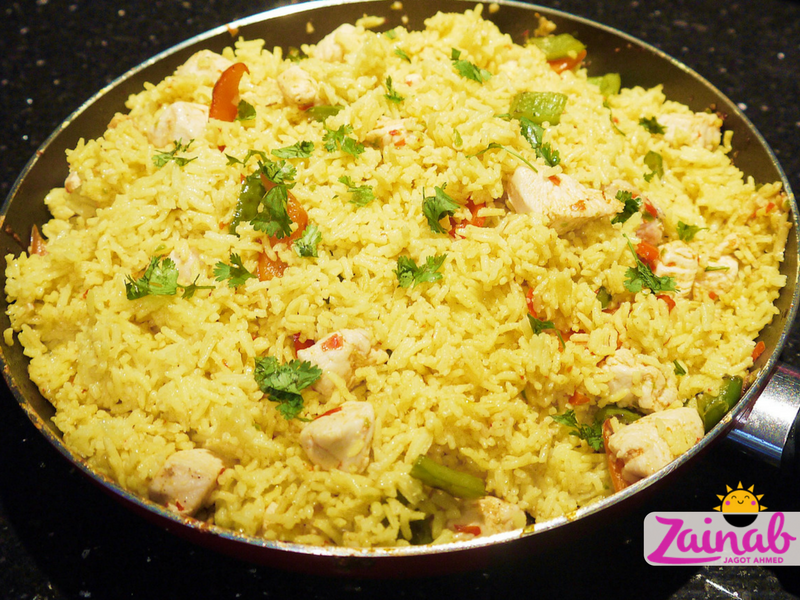 Simple Chicken Paella