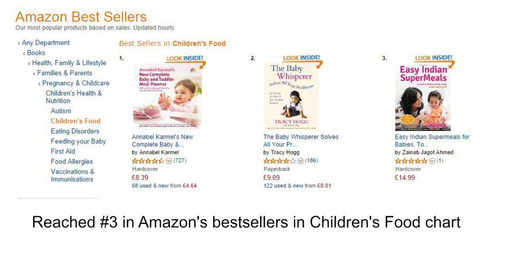 #3 Amazon bestseller