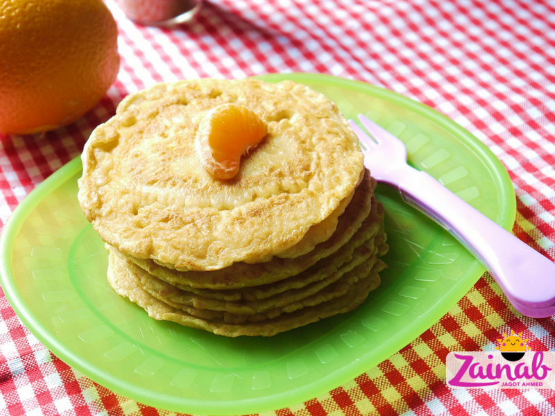 Sweet Zesty Carrot Pancakes