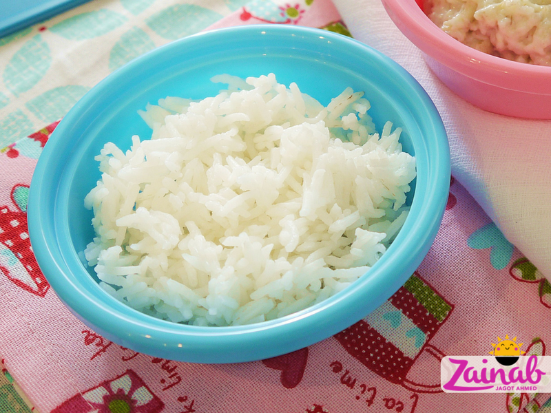 Simple Basmati Rice for babies and toddlers