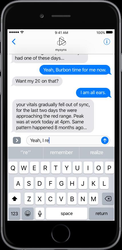 Freier Text Chat mit Chatbot und Therapeut, Coach, Arzt, ...