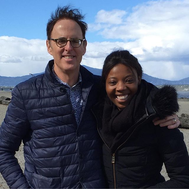 Filmmaker Terrence Turner, looking forward to reuniting with the exceptionally talented Mimi Ndiweni star of Dishonour at the Cardiff International Film Festival. @mimindiweni @ciff_official @tprturner #endfgm #humanrights #filmfestivals #theguardian #bbcwales #forward #daughtersofeve #shortfilms #madeincanada @rwcmd