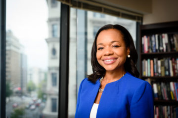 Kristen Clarke, President and Executive Director of the National Lawyers' Committee for Civil Rights Under Law