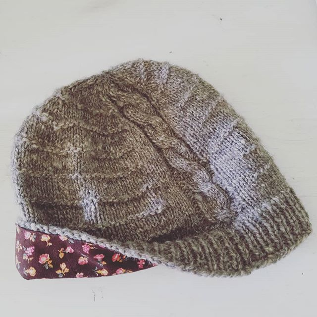 This hat has been such a fun project to design. The pattern is simple so that the beauty of the local yarn can shine through.The lining is fabric that my husbands grandmother passed down to me. This is why I love making. It's an art and like most art there is so much meaning under the surface. It's all in the details.  #knitworthyarts #kwarts #hatdesignclass #handmade #slowfashion #localwool #itsallinthedetails