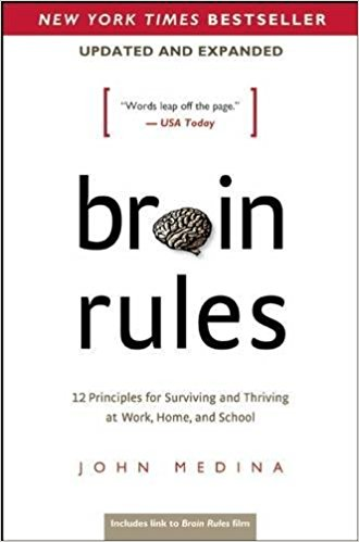 Cover of book called Brain Rules