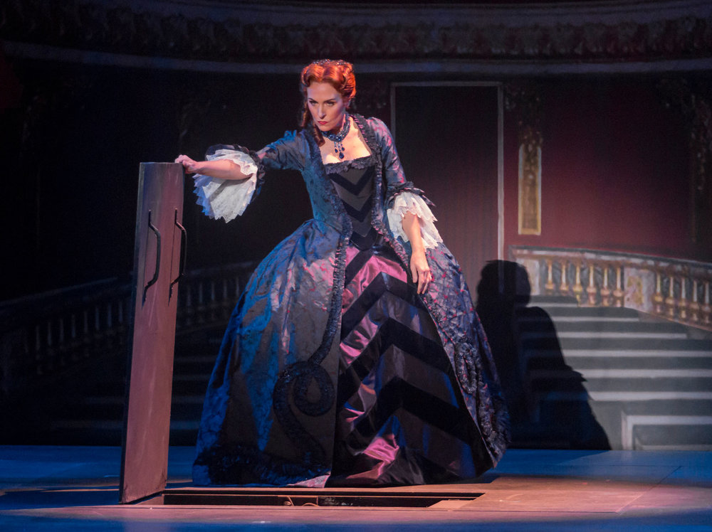 As the Stepmother in Alma Deutscher's  Cinderella , Photo: Bob Shomler