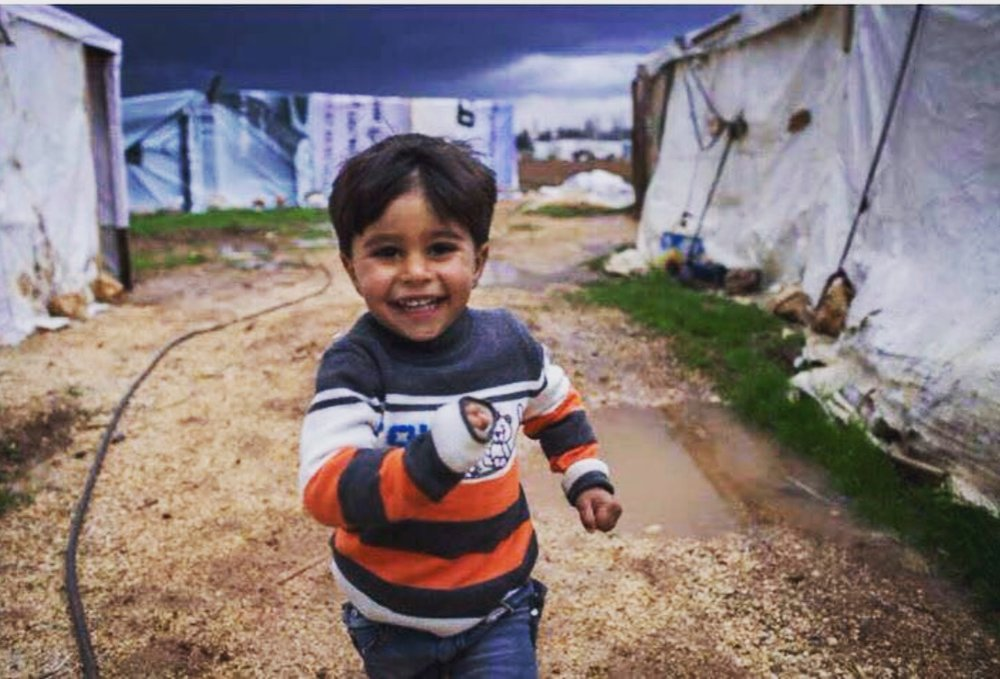 Zaatari Syrian Refugee Camp. January, 2017.
