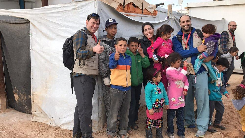 Mafraq Syrian Refugee Camp. January, 2017.