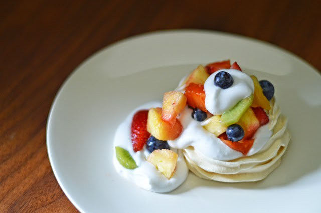 Fruit-Bedecked Meringue - A Gossamer Wing review and recipe at Cooking Up Romance(Image credit: Elizabeth Lane)