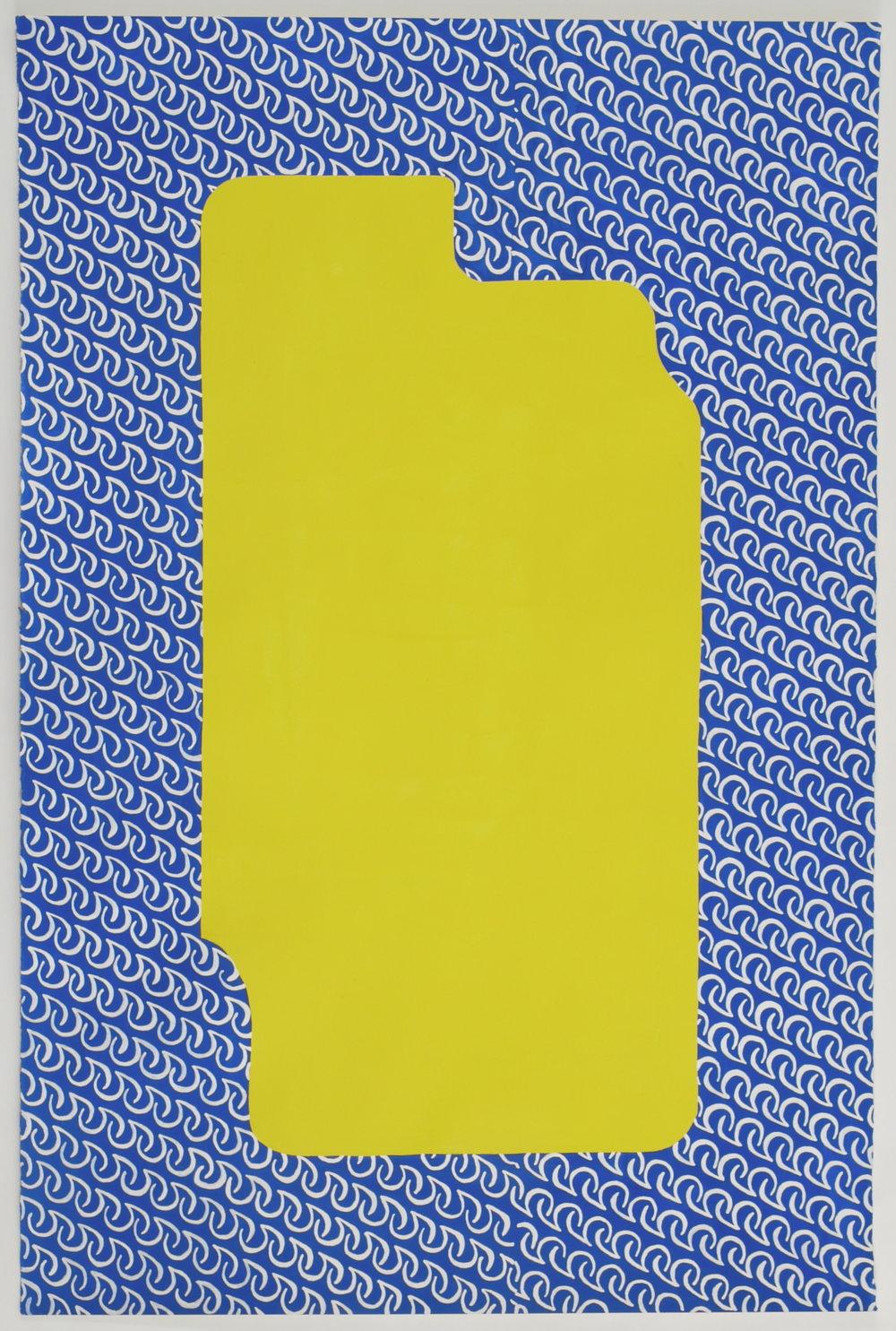 """""""Extreme Comfort Plus,"""" 39"""" x 26"""", 2012"""