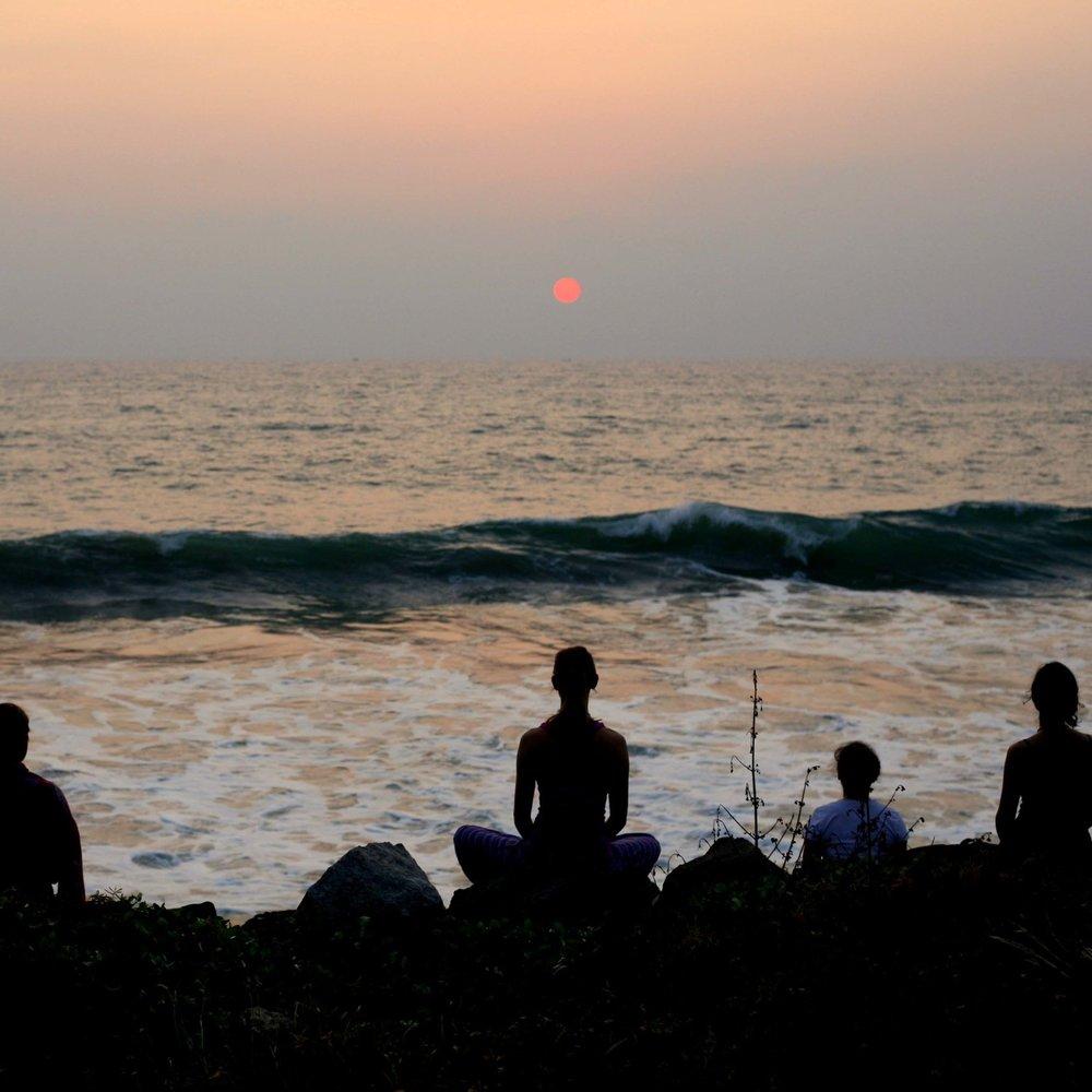 Ocean Meditation Kerala