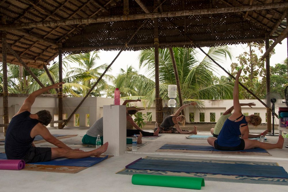 Kerala_Rooftop_Yoga_India