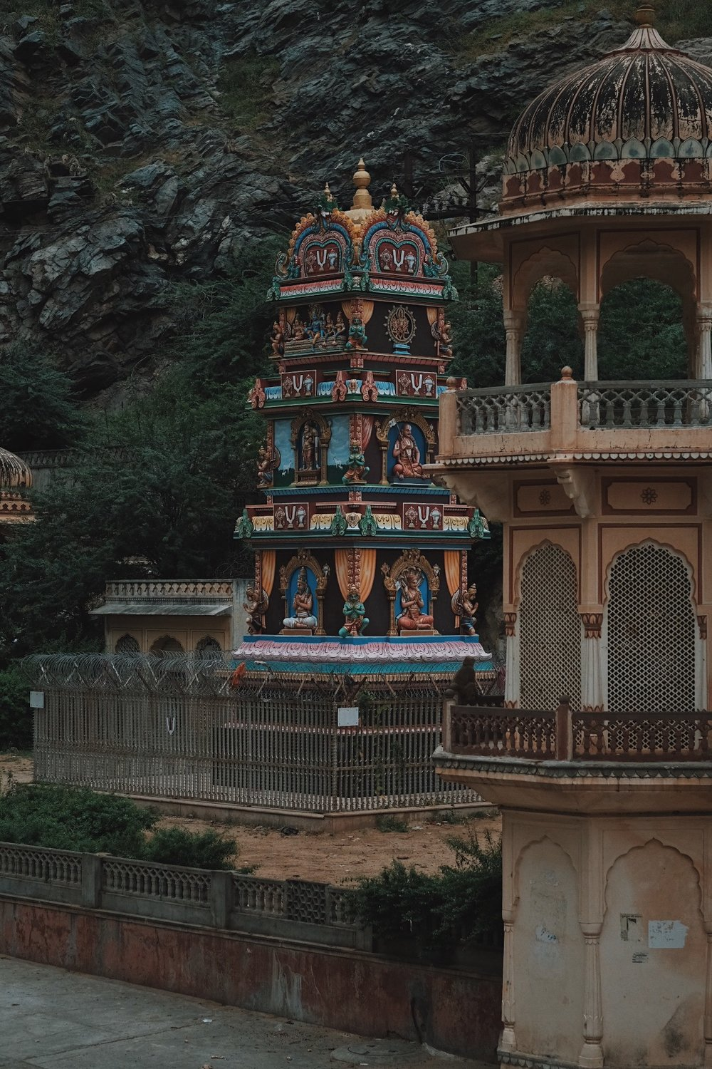 Temple Grounds, Shri Galtaji, Inspired India 2018. Photography by Precious LaPlante.
