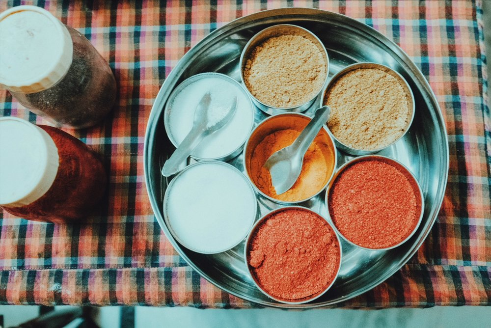 It's all about the balance. Rajasthani home-style cooking lesson, Jaipur
