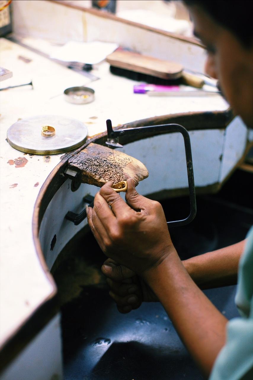 Tallin Jewels factory tour, Jaipur