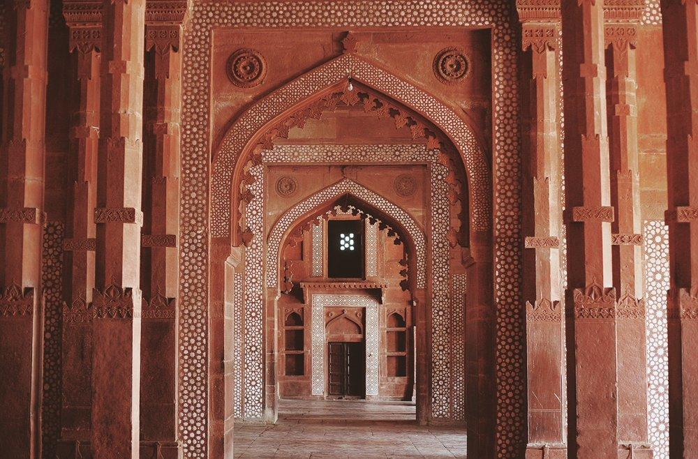 Fatehpur Sikri, 35km from Agra
