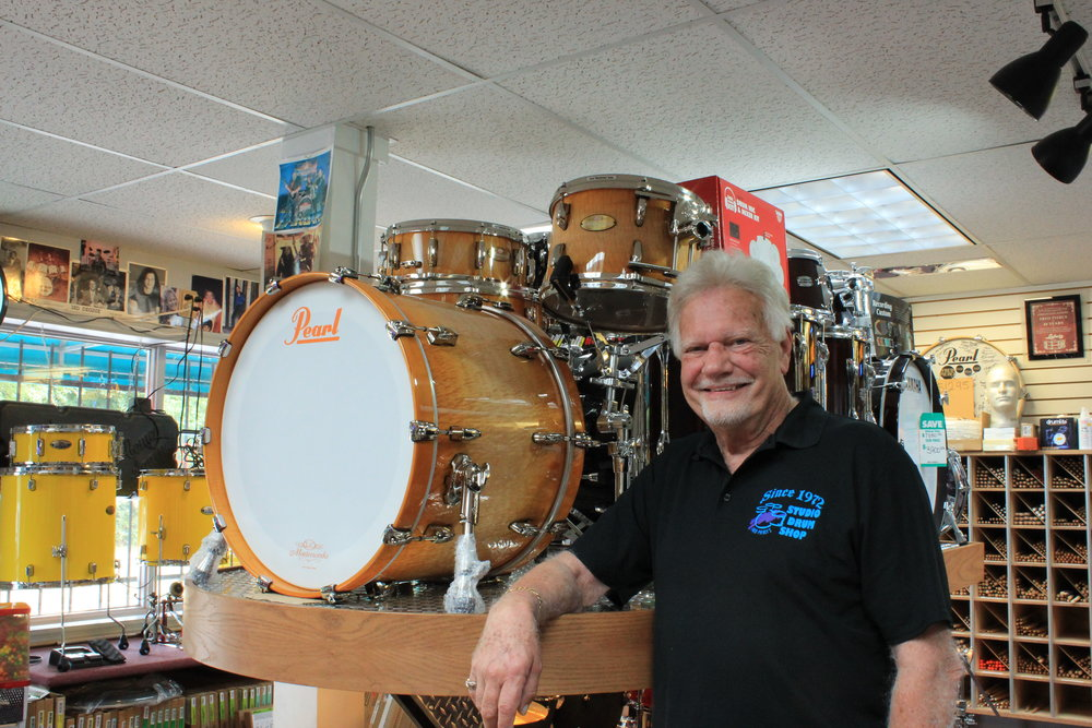 Since 1972, - I have been serving the percussion field with top name products. Not only to the St. Louis region, but to working bands around the country.I carry everything you need in the line of drums, percussion, and accessories.Think of Fred Pierce Studio Drum Shop for all of your percussion needs.