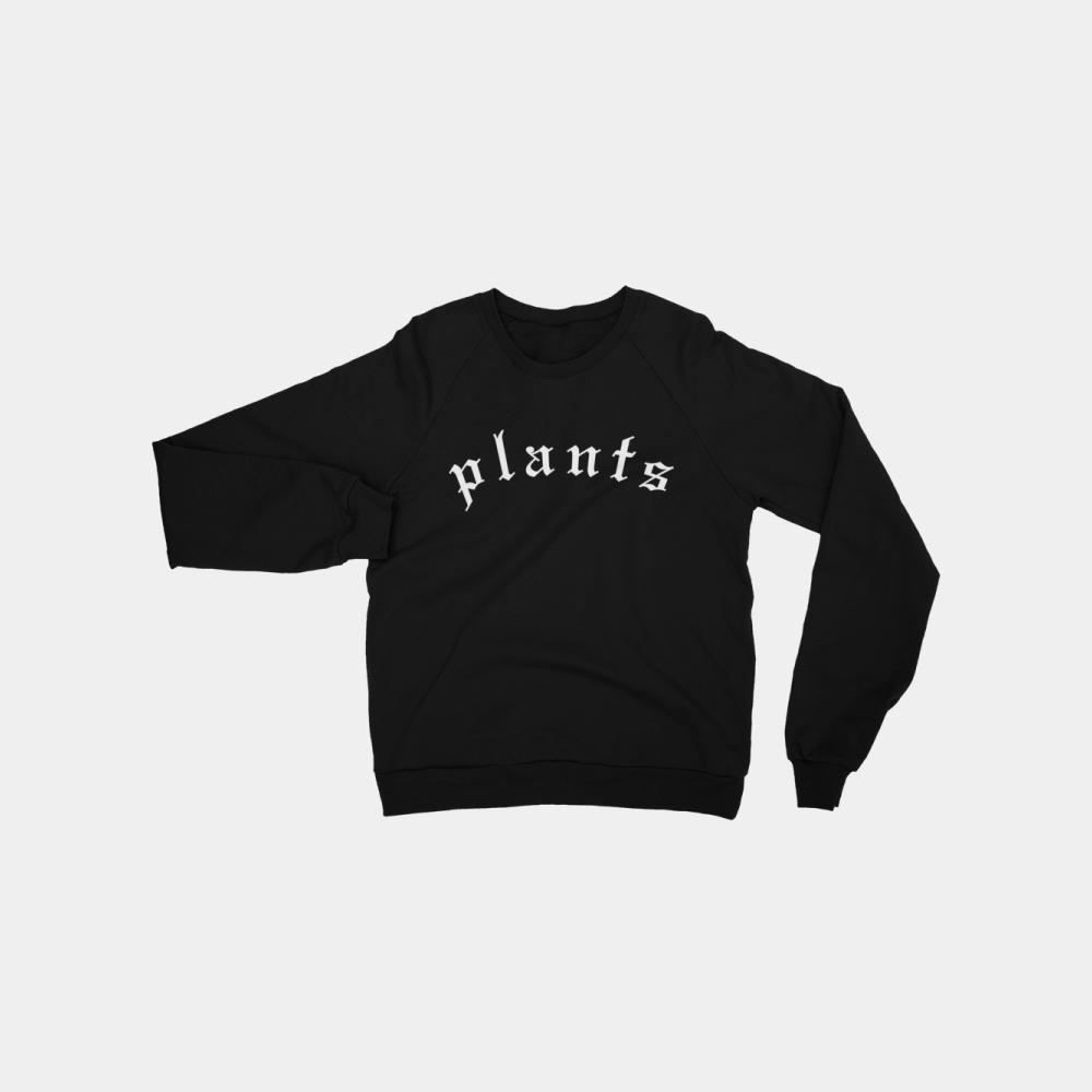 1499706ac421c Plants Blackletter Unisex Vegan Sweatshirt
