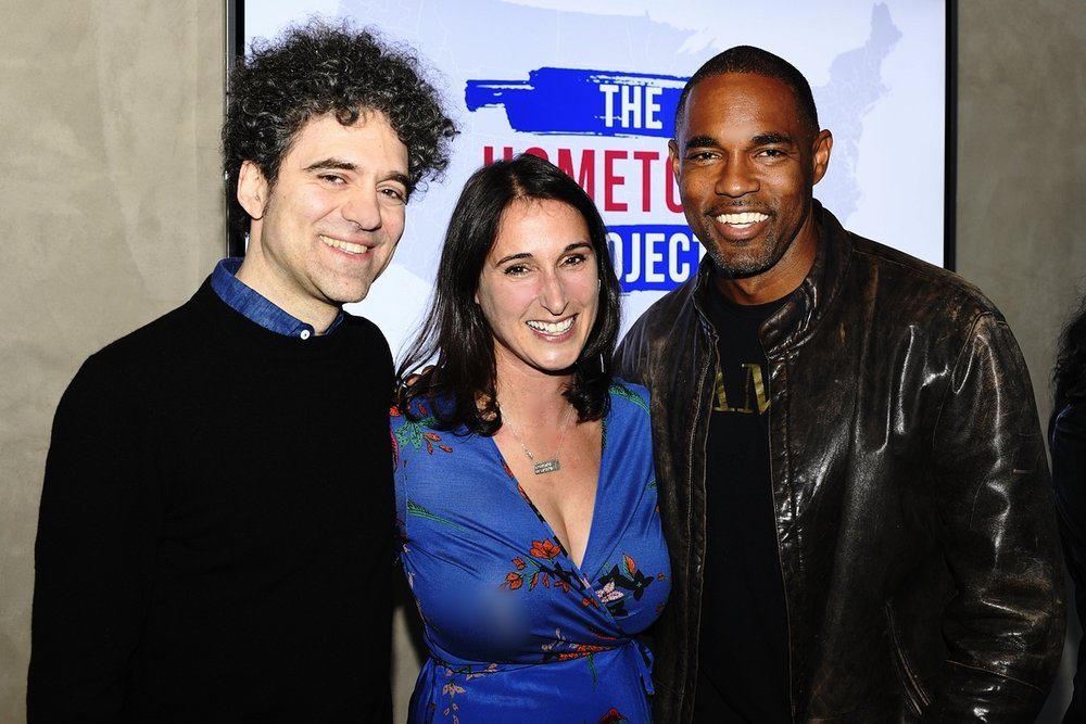 """Founder Peter Salett, Executive Director Erin Frederick and our first """"Energizer"""" and now Advisory Board Member Jason George."""
