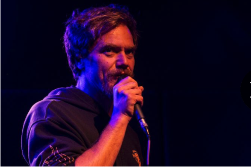 Lexington, Kentucky native, and award-winning actor Michael Shannon helps get out the vote at a concert in his hometown.