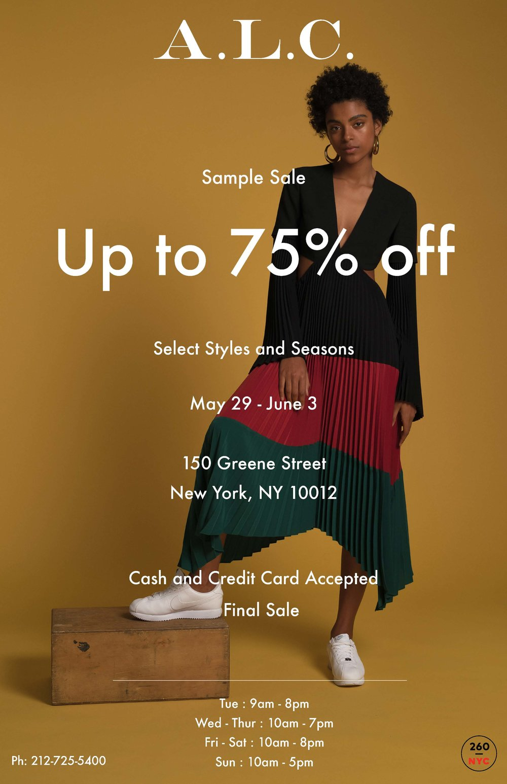 A.L.C. Sample Sale Flyer.jpg