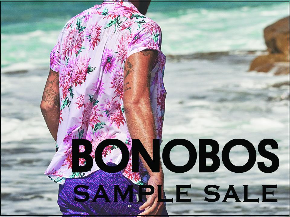 faa470f3a462 Bonobos Sample Sale — 260 NYC