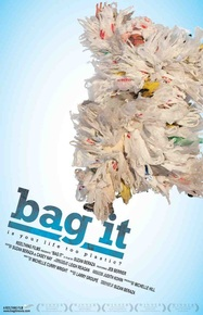 "Bag It   Americans use 60,000 plastic bags every five minutes-single-use disposable bags that we mindlessly throw away. But where is ""away?"" Where do the bags and other plastics end up, and at what cost to our environment, marine life and human health?  Bag It is available to stream on i Tunes . You can also  Host a Screening  at your school or local library. Visit the BagIt website for more details."