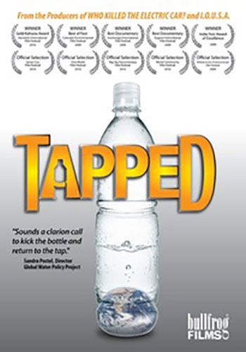 Tapped   Is access to clean drinking water a basic human right, or a commodity that should be bought and sold like any other article of commerce?  Tapped is available on  Amazon