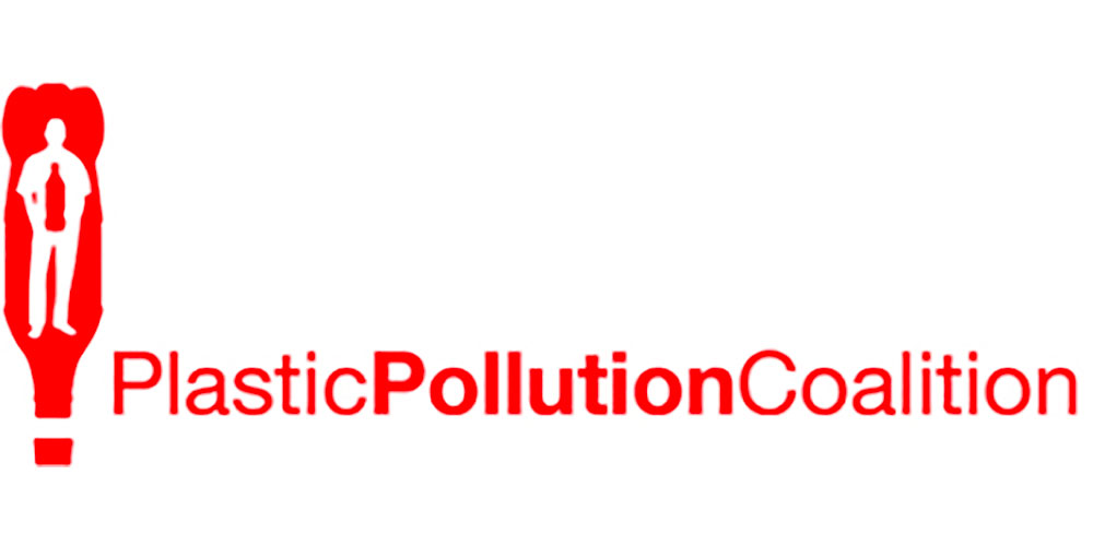 Plastic Pollution Coalition   is a global alliance of individuals, organizations and businesses working together to stop plastic pollution and its toxic impacts on humans, animals and the environment.