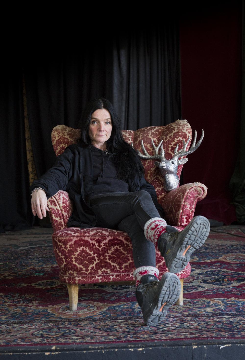 Camilla Backman, konstnär. Driver Garageprojektet i Hammenhög.