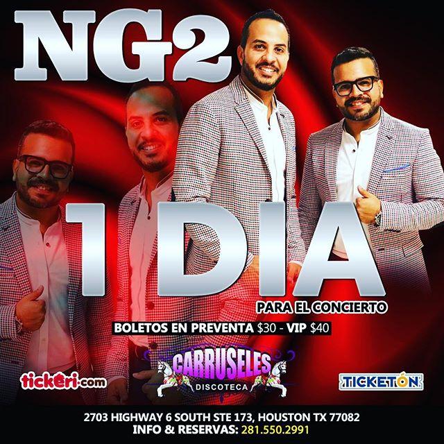 ¡Falta 1 Día para vernos con todos los Latinos de Houston en la Discoteca Carruseles! #salsaboricua #mexico #salsa #NG2 #Puertorico #Latino #Latinos #Houston