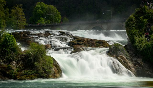 Another picture of the Rhine falls in Switzerland. I like the way it came out but tell me what you think!