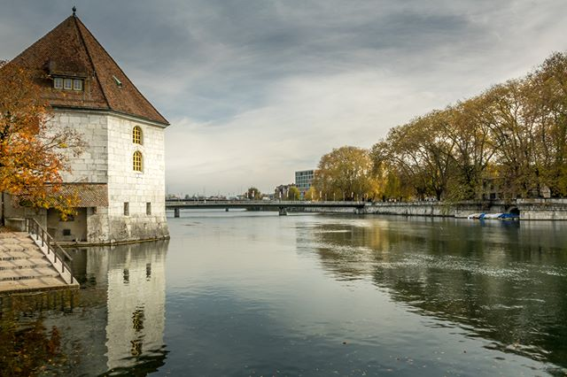 A picture I took when I was visiting Solothurn in Switzerland. The weather was not too bad for autumn.