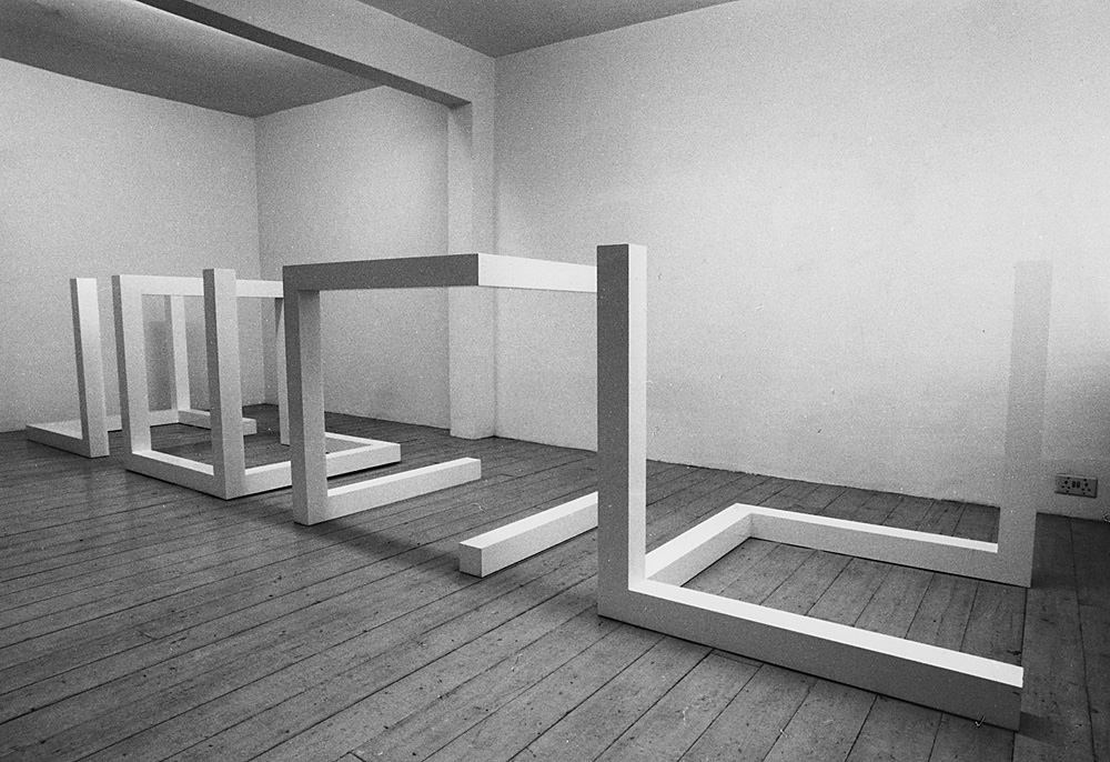 Sol LeWitt. 1977.  installation view . Lisson Gallery, London.