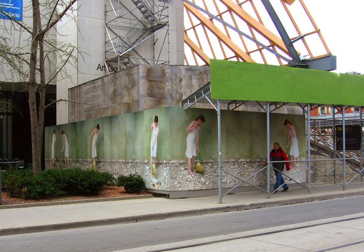 Rhythm of a True Space #1 Installation,AGO, Toronto,2008