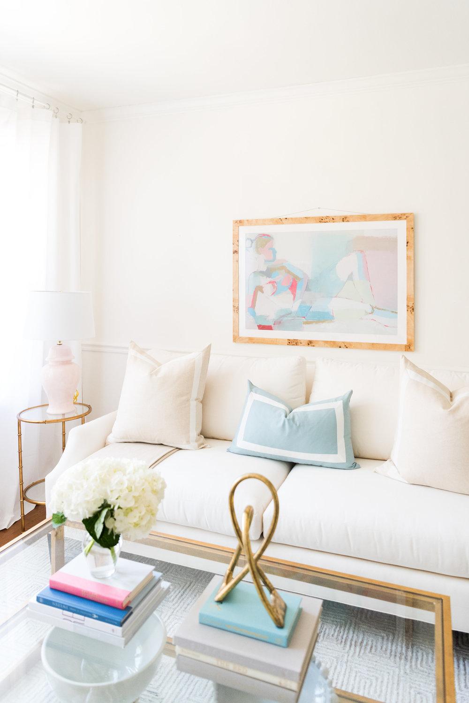 Fresh Formal Living Room Update