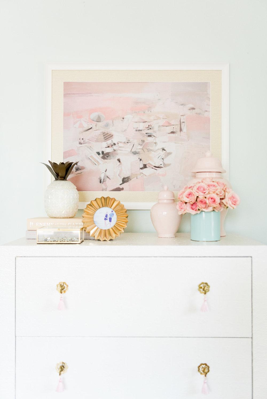 Pastel Beachy Guest Room