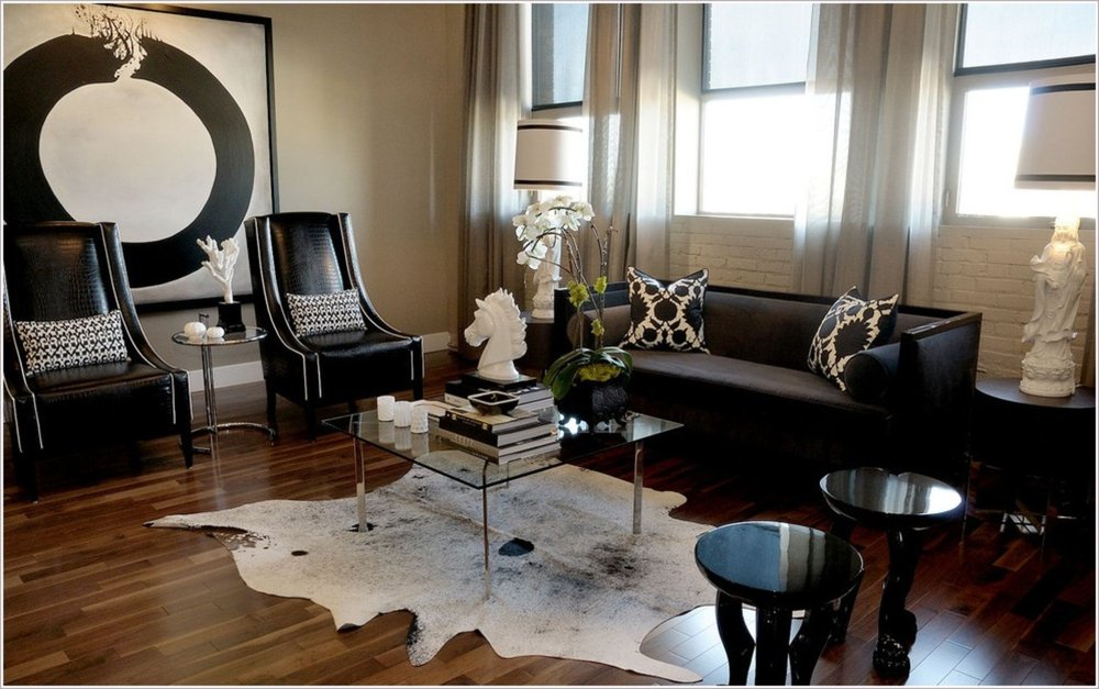 Beautiful Traditional Brazilian Cowhide Rugs