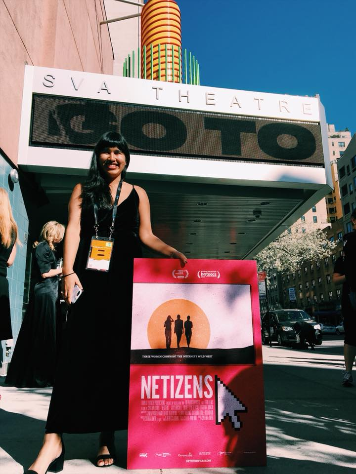 World premiere of NETIZENS at Tribeca Film Festival 2018, photo by Liz Rohe