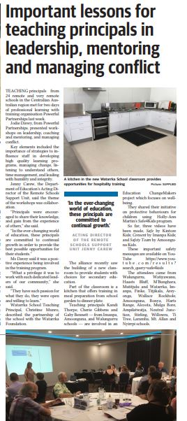 The Centralian Advocate, Alice Springs, March 29th, 2019