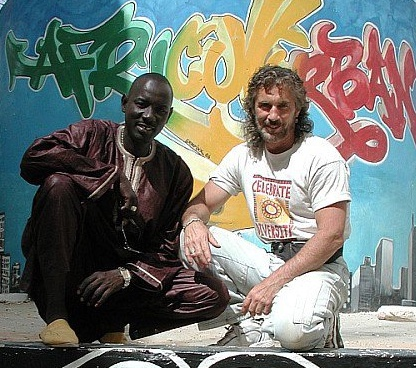 Massamba Diop and Tony Vacca