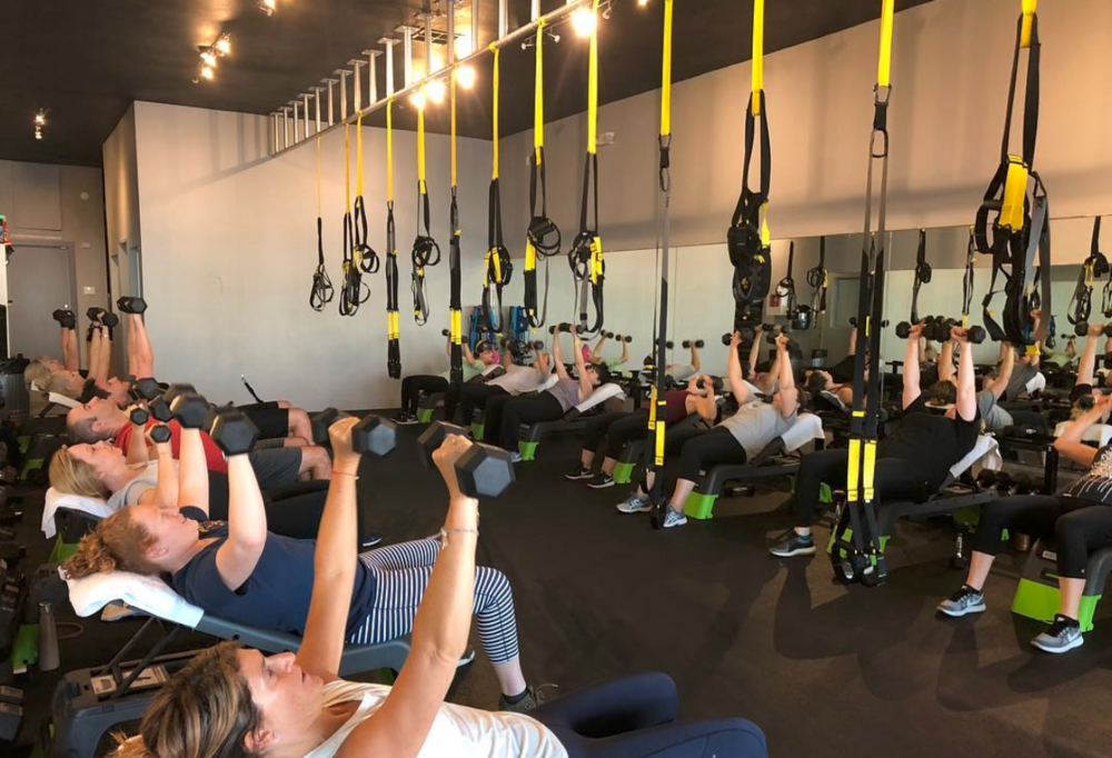 RIOT - Our fusion class combining 20 minutes of pure strength training followed by 30 minutes of indoor cycling. This class gives you maximum benefit in only 50 minutes, allowing your muscles a chance to build and grow before hitting that cardio!
