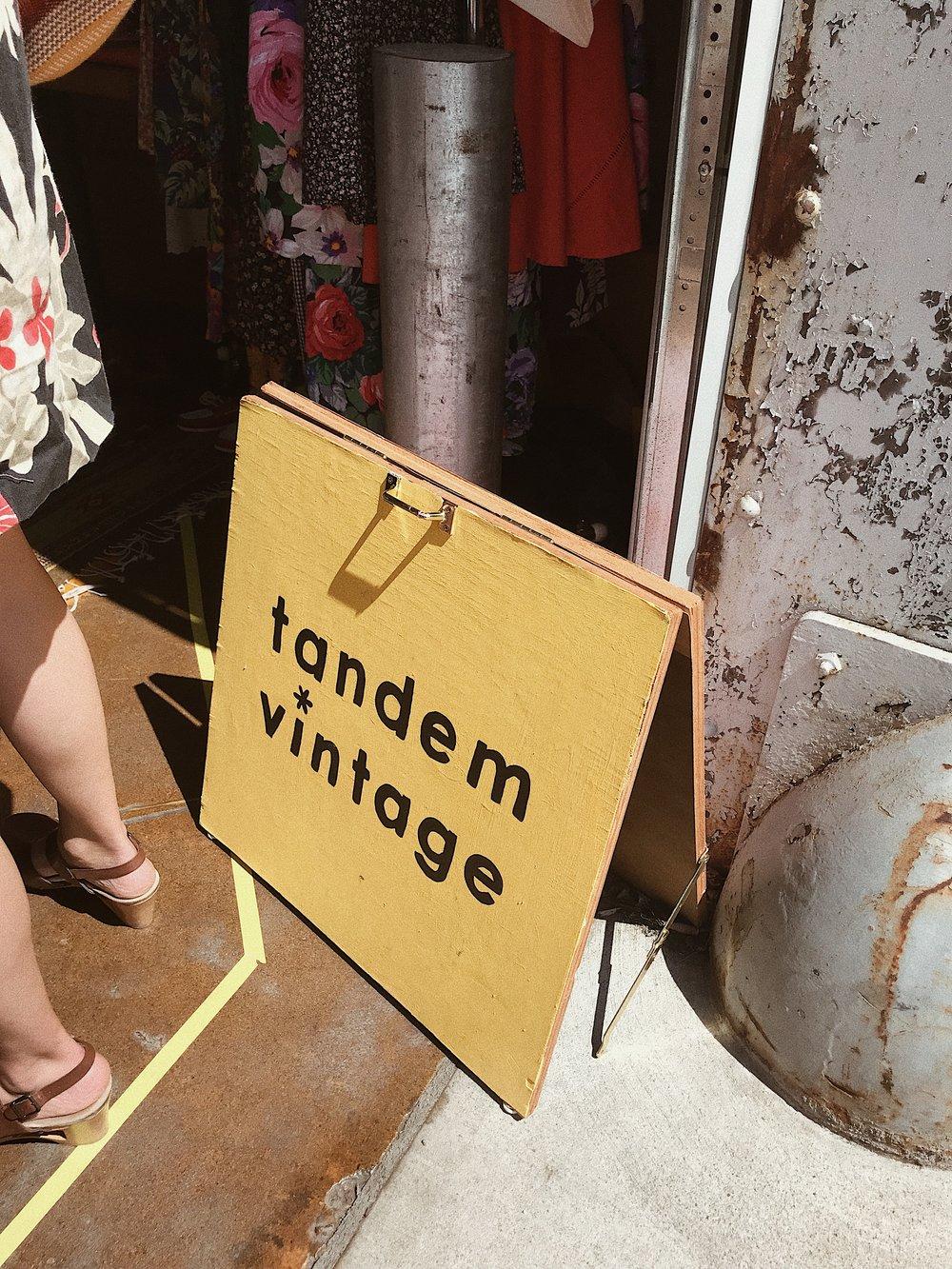 Tandem Vintage