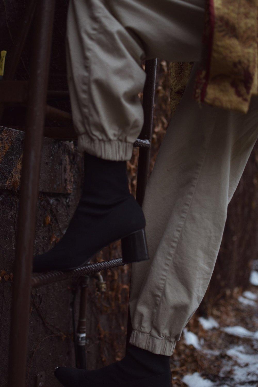 Long live sock boots.