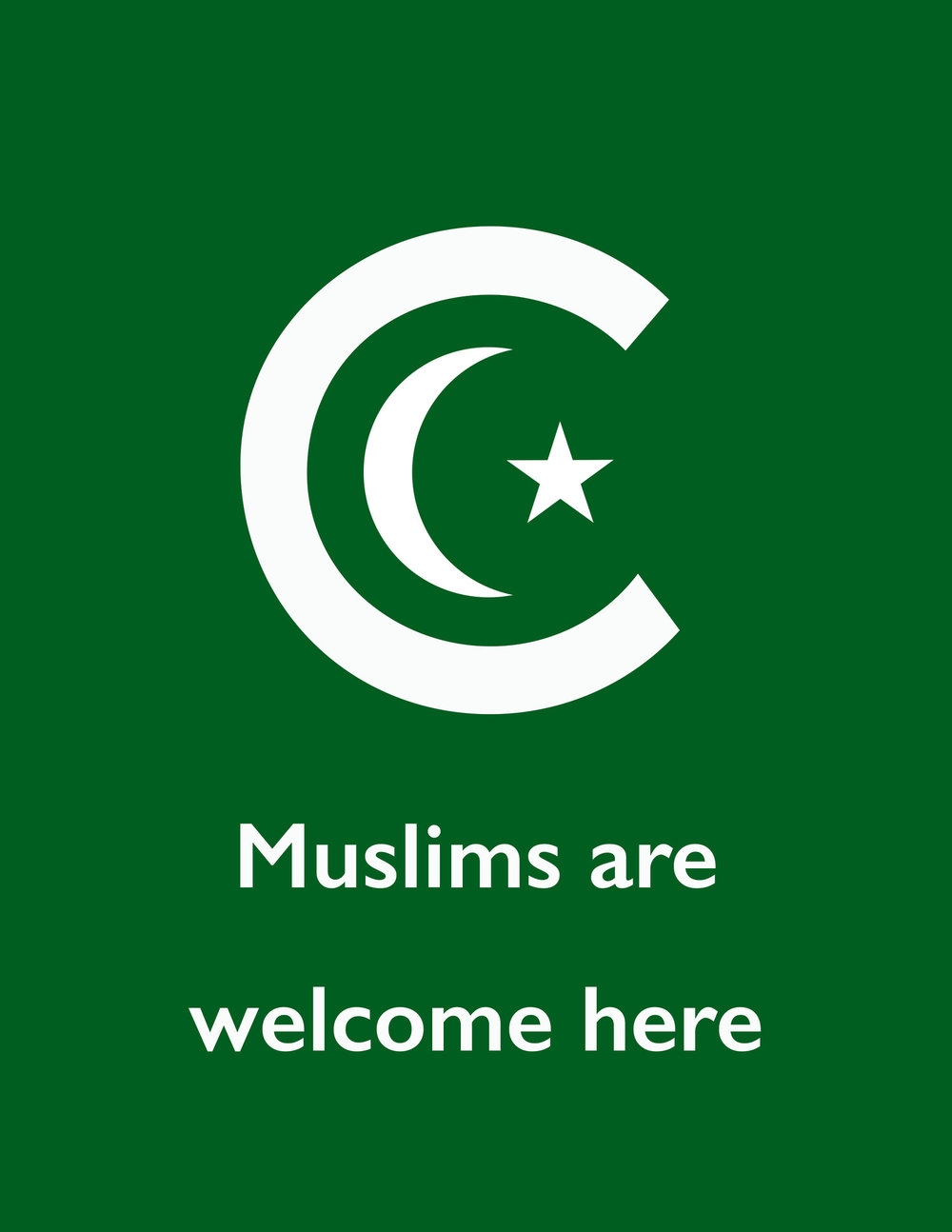 Muslims+are+welcome+here.jpg