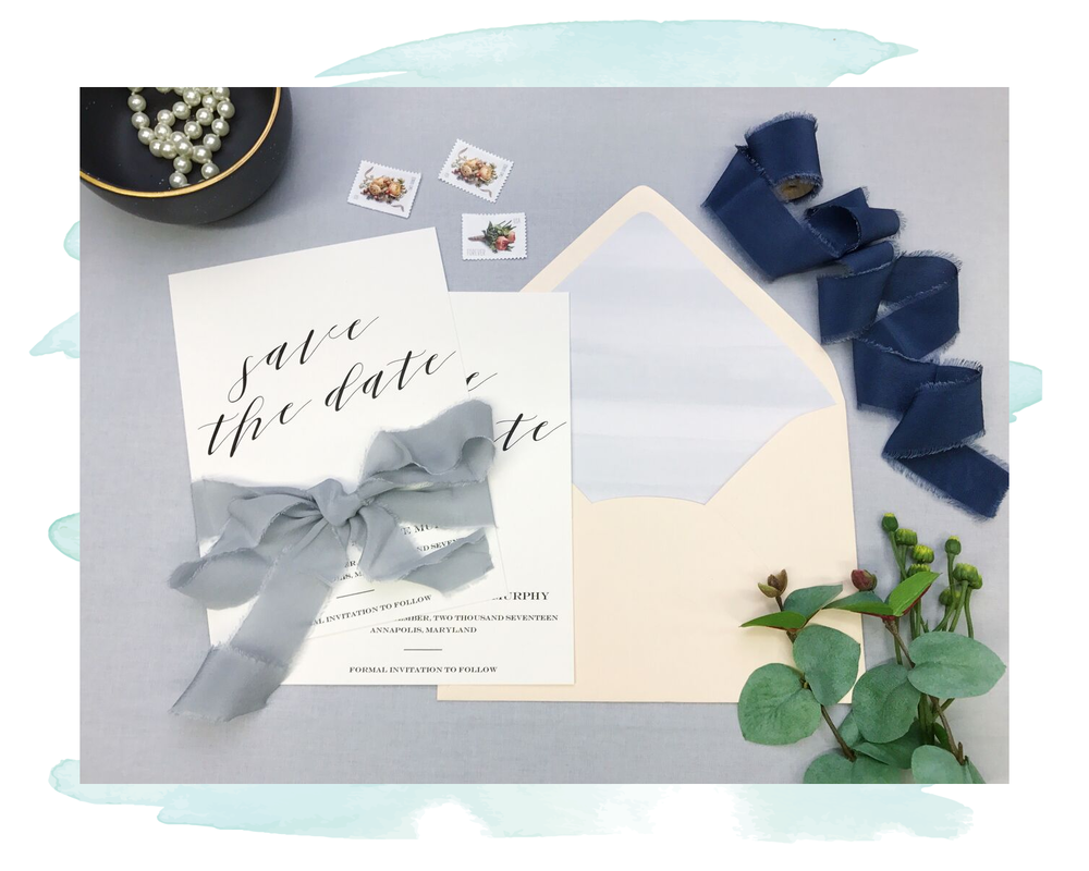 Invitation + Stationery Design | Save the Dates | Anchor Fifty Two