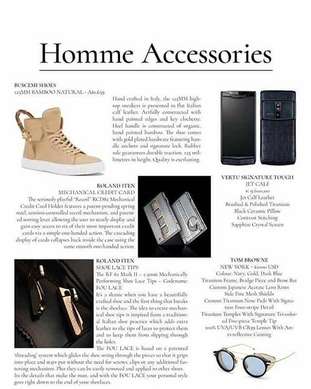 Men's Accessories #homme #mensfashion #men #fashion #rolanditen #lux #entrepreneur #business #vertusignature #ventu #vertu #vertutouch